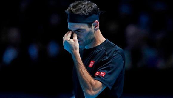 Roger Federer se retiró de Roland Garros. (Foto: AFP)
