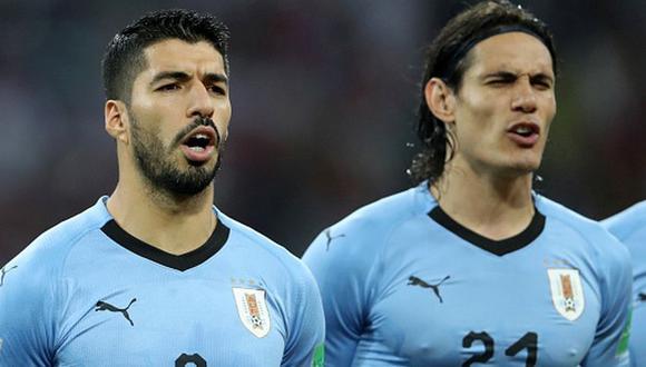 Luis Suárez y Edinson Cavani jugarán la fecha triple de octubre de Eliminatorias. (Foto: Getty)