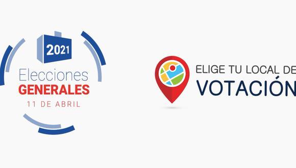 La ONPE designó una web para elegir tu lugar de votación en las elecciones 2021 (Foto: ONPE)