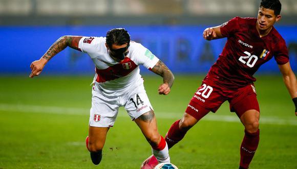 Perú vs. Venezuela: chocaron por Eliminatorias a Qatar 2022.   Foto: Fernando Sangama / @photo.gec.