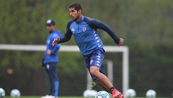 Luis Abram negocia la renovación con Vélez Sarsfield (Foto: Vélez Sarsfield)