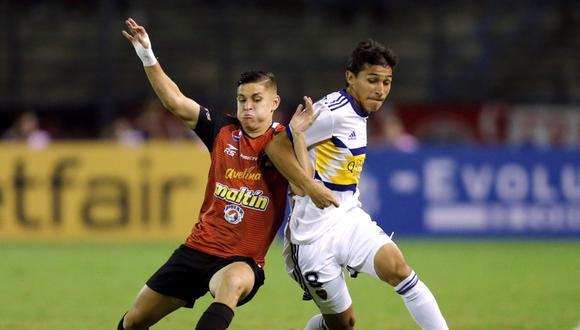 Boca Juniors no pudo ganar en su primer partido por la Copa Libertadores 2020. (Foto: EFE)