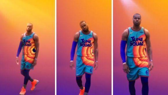 "Vip: ""Space Jam"": Así será la camiseta que usará LeBron James en ..."