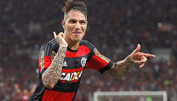 Paolo Guerrero es destacado en Flamengo por esta insólita razón