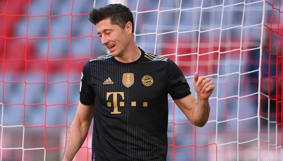 Delantero polaco milita en el Bayern Munich desde la temporada 2014-2015. (Foto: AFP)