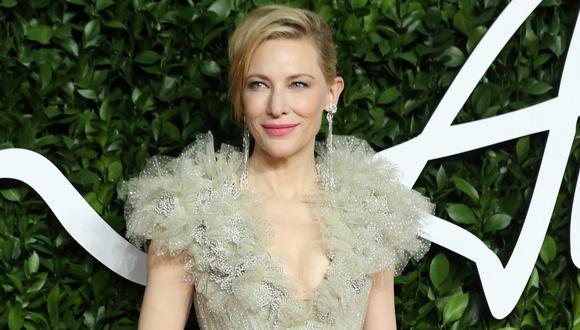 """Cate Blanchett terminó con un """"pequeño corte en la cabeza"""" tras accidente con una motosierra. (Foto: AFP). (Foto: AFP)"""