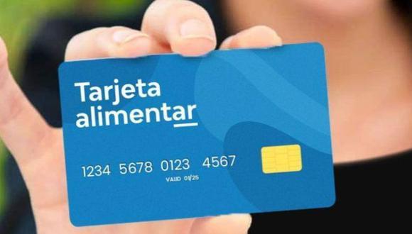 La Tarjeta Alimentar la entrega el Gobierno argentino, pero en diferentes etapas. Revisa aquí cuándo la cargan con el aumento anunciado.