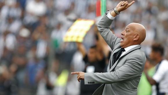 Roberto Mosquera cumple su segunda etapa al mando de Sporting Cristal. (Foto: EFE)