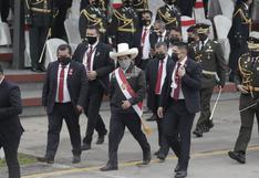 Pedro Castillo: Así abandonó el Desfile Militar tras sismo en Sullana [VIDEO]