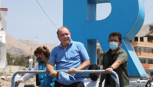 Rafael López Aliaga señaló que si es elegido el 28 de julio expropiara los peajes.  (Foto: Britanie Arroyo/GEC)