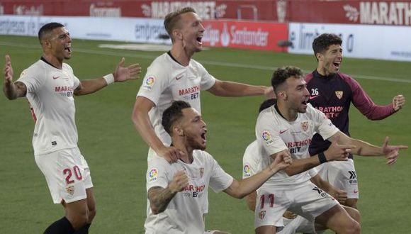 Sevilla está clasificado para la Champions League de la próxima temporada. (Foto: Sevilla)