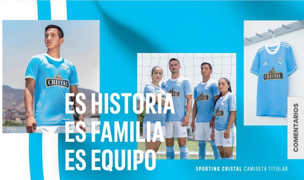 Estos serían los modelos de camiseta que usaría Sporting Cristal en 2021. (Foto: Adidas)