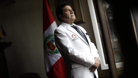 El decano del Colegio Médico, Miguel Palacios Celis, espera que en esta gestión sean escuchados. (Foto: Anthony Niño de Guzmán)