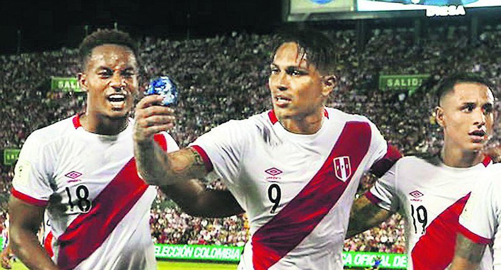Selección peruana: Paolo Guerrero ahora va por un triunfo ante Brasil