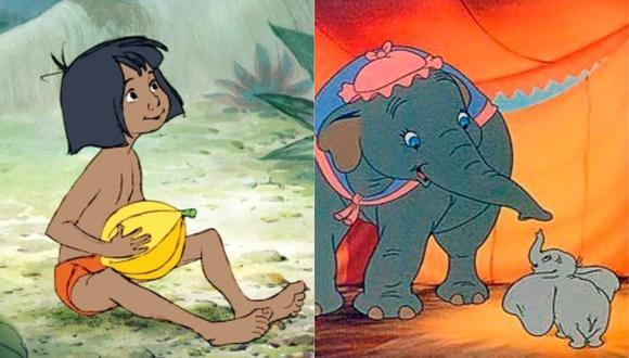 """Disney incluyó nuevas advertencias en """"Dumbo"""" (1941) y """"El libro de la selva"""" (1967). (Foto: Disney)"""