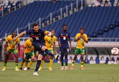 Con triplete de Gignac: Francia venció 4-3 a Sudáfrica por los Juegos Olímpicos Tokio 2020   VIDEO