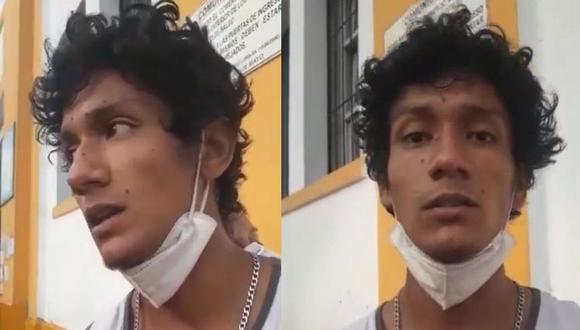 Luis Fernando Araujo Enríquez fue hallado el último martes en el hospital Dos de Mayo, luego de tres días de ser reportado como desaparecido. (Captura de video/Aprodeh/Twitter)