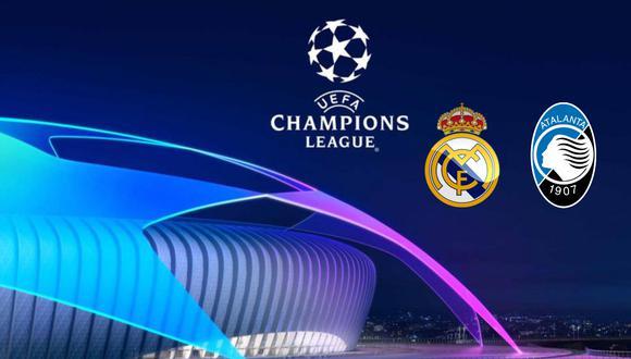 Real Madrid y Atalanta en vivo y en directo chocan por los octavos de final de la Champions. FOTO: Composición