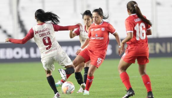 El equipo femenino de Universitario perdió 5-0 ante América de Cali. (Libertadores Femenina)