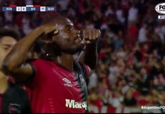 River vs. Newells: GOL de Leal para 2-0 por Superliga y lo celebró como Gabigol en la Copa Libertadores   VIDEO
