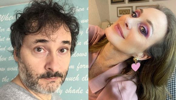 """Leonardo Torres y Denisse Dibós protagonizan la comedia dramática virtual """"Tiempos Mejores"""". (Foto: @leotorresvilar/@denissedibos)"""