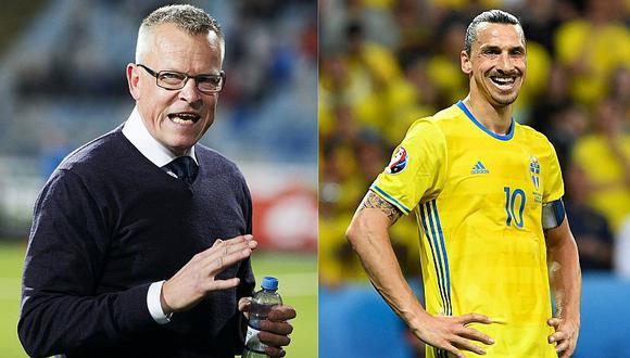 Suecia renovó al entrenador que dejó fuera de Rusia 2018 a Zlatan Ibrahimovic