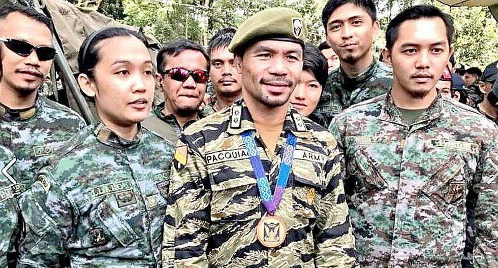 Manny Pacquiao: ex boxeador se comprometió a luchar contra el ISIS