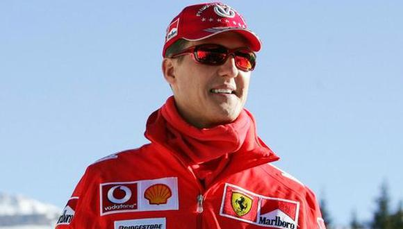 El hijo de Enzo Ferrari habló de Michael Schumacher. (Foto: AFP)