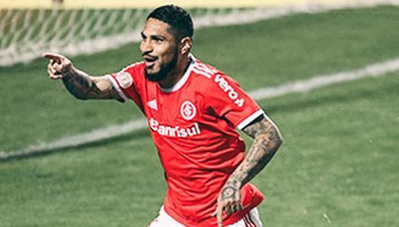 Paolo Guerrero ha participado en nueve partidos oficiales en lo que va del año. (Foto: Inter de Porto Alegre)