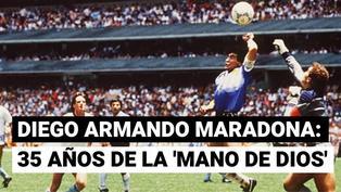 Argentina celebra 35 años del Gol del Siglo de Maradona a los ingleses
