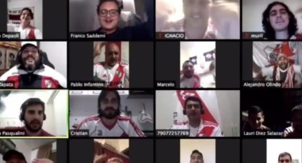 River Plate - Sao Paulo: Así alienta los hinchas al millonario
