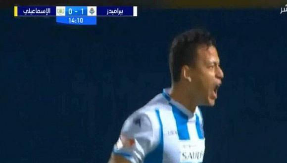 Atento, Gareca: Cristian Benavente marcó genial doblete con Pyramids FC | VIDEO