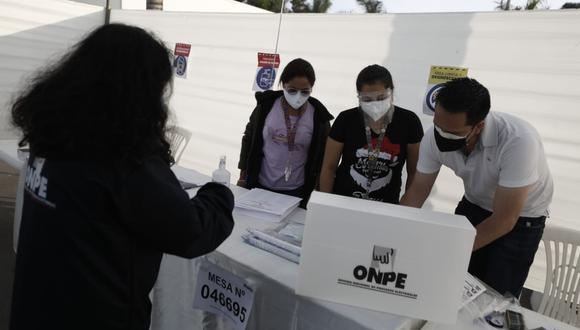 La ONPE publicó el link para que la ciudadanía sepa dónde votar este domingo 6 de junio. (Foto ONPE)
