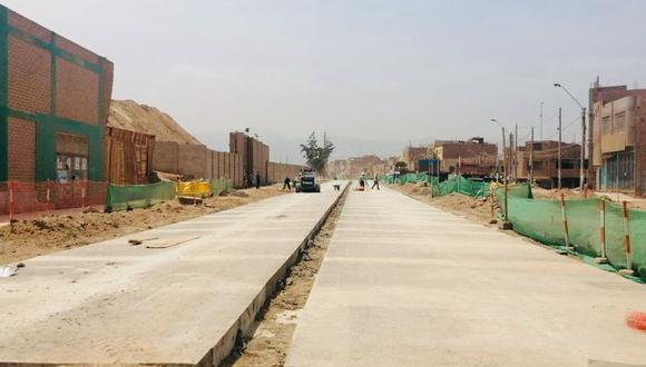 Las obras en la avenida Las Torres beneficiarán a más de 275 mil vecinos de Lima Este. (Foto: MML)