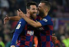 Jordi Alba confesó significativo detalle sobre el origen de su conexión con Lionel Messi