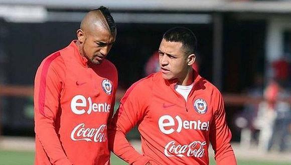 Perú vs. Chile: Arturo Vidal es baja de último minuto
