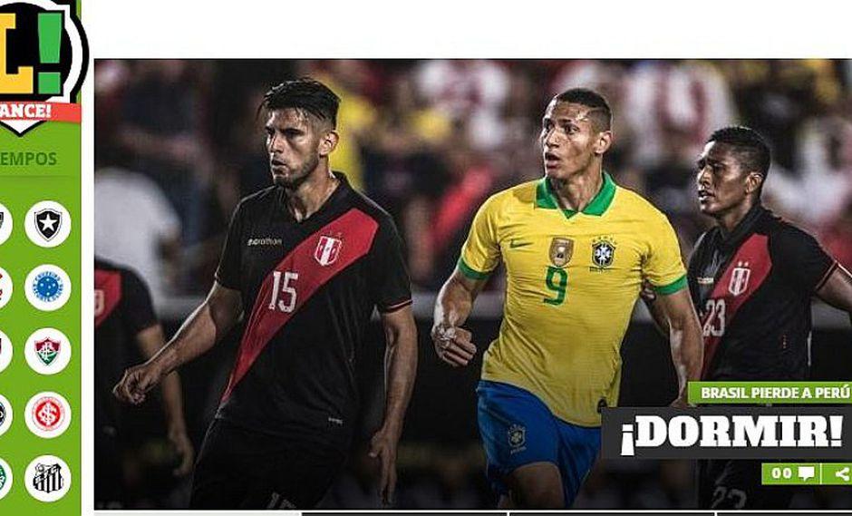 Perú 1-0 Brasil | Así reaccionó la prensa mundial tras el triunfo de la selección peruana ante el 'Scratch' | FOTOS