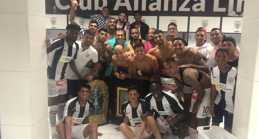 Así celebró Alianza Lima su segundo triunfo en casa y ahora piensa en la Libertadores | FOTO