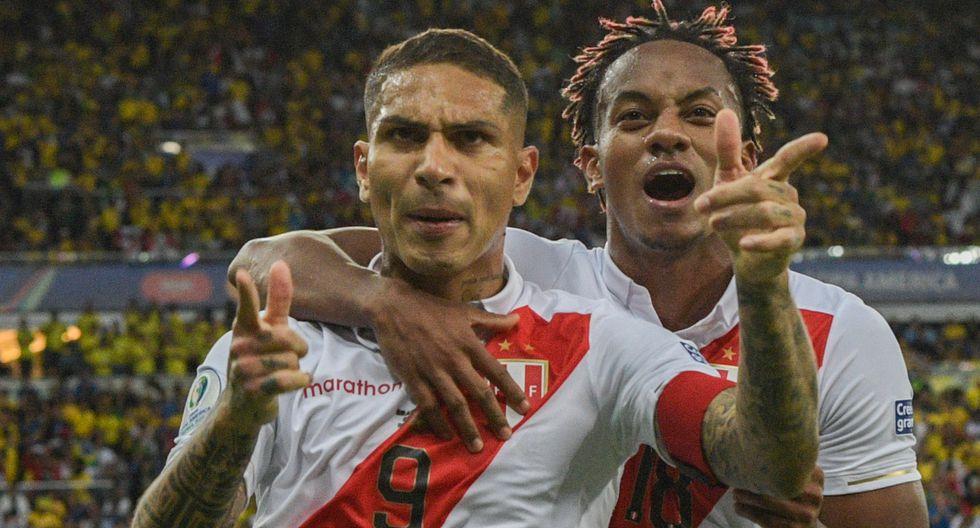 Paolo Guerrero / Flamengo (Brasil) - Internacional (Brasil). (Foto: AFP)