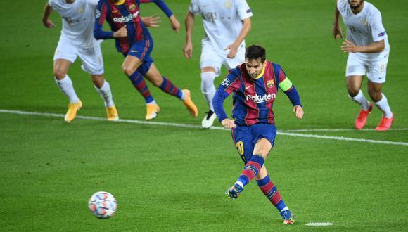 El Barcelona apabulló  5-1 al Ferencvaros húngaro este martes en la primera jornada de la Liga de Campeones, para liderar el grupo G del torneo continental.