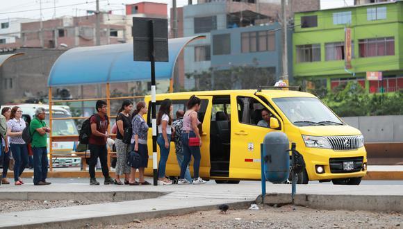 La norma formaliza los servicios de los vehículos de categoría M1 (sedán o station wagon), los cuales son considerados altamente peligrosos. (Foto: Lino Chipana/GEC)