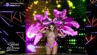 Reinas del show 2: Isabel Acevedo obtuvo el puntaje más alto interpretando los temas de Two man sound