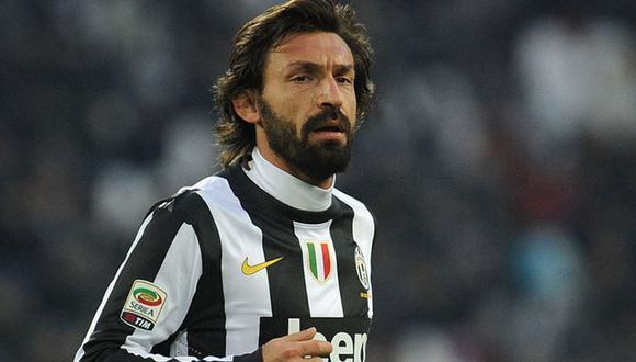 Andrea Pirlo jugó en Juventus del 2011 al 2015. (Foto: Agencias)
