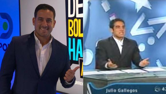 La primera vez, fue mientras conducía programa junto a Daniel Peredo el 2007.