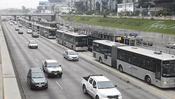 """Concesionarios anunciaron que de mantenerse los incumplimiento suspenderán el servicio """"en sus totalidad"""" desde el viernes 14 de agosto. (Foto: Mario Zapata/GEC)"""