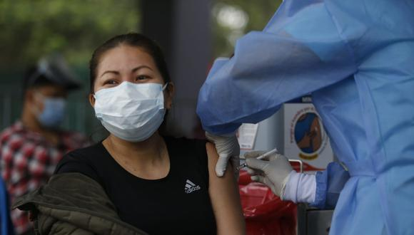 Ministerio de Salud vacunará contra el COVID-19 en estaciones de la Línea 1 del Metro de Lima. (Foto: Violeta Ayasta/ @photo.gec)