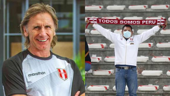 Mientras los jugadores y comando técnico de la selección peruana salían del hotel al bus de la 'bicolor', un hincha aprovechó en gritarle algunas cosas a Ricardo Gareca que desató la risa de todos.