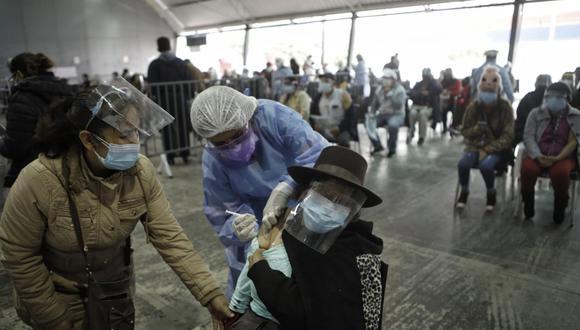 Gobierno estima dejar a un tercio de la población peruana inmunizada hasta el 28 de julio. Foto: Joel Alonzo/@photo.gec