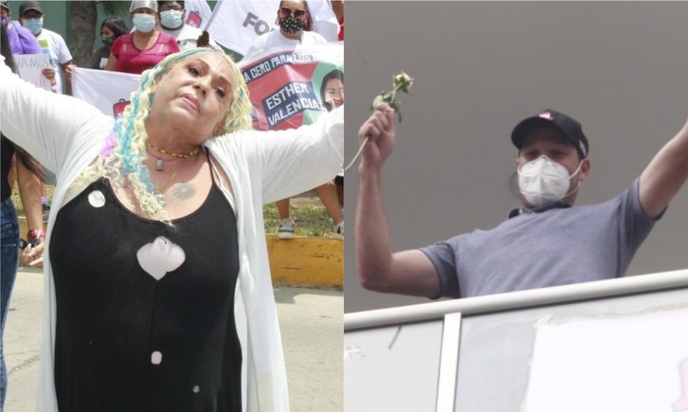 La cantante Lucía de la Cruz le dio su respaldo y le pidió que cumpla sus promesas.