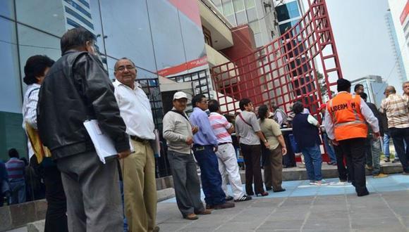 El proyecto de ley N° 7595/2020-CR asegura que las cuentas previsionales estarán cubiertas por el fondo de seguro de depósito. ¿Cuán cierto es?  (Foto: Andina)